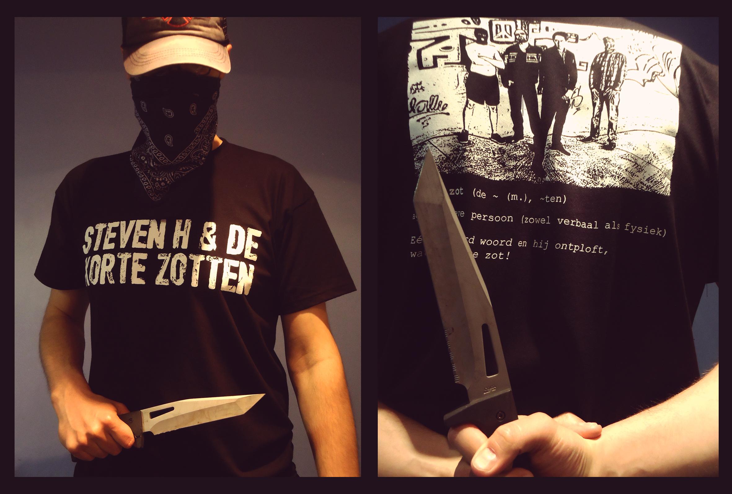 T-shirt Steven H & de Korte Zotten