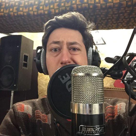 Steven H in de studio