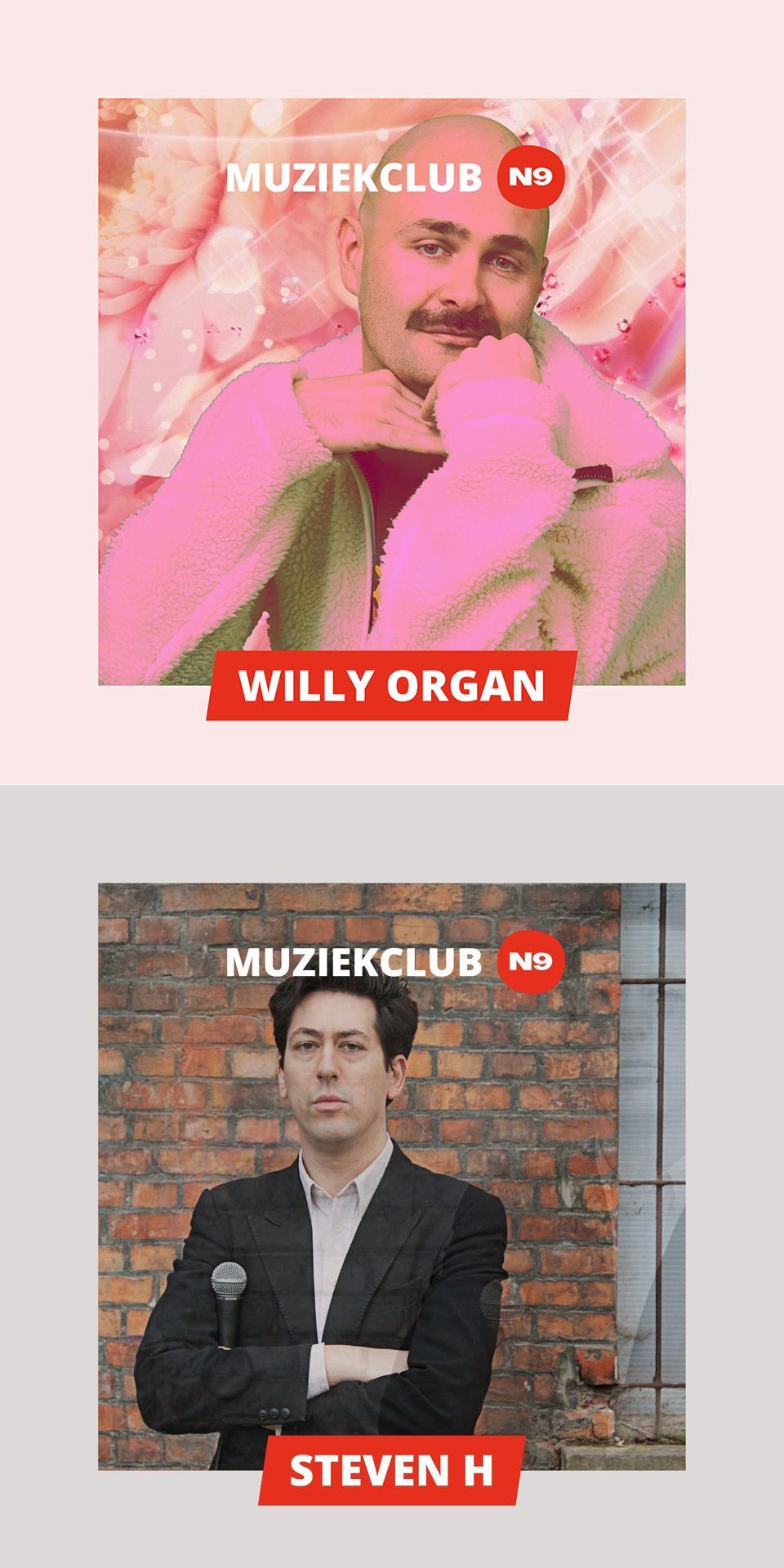 Willy Organ + Steven H - N9